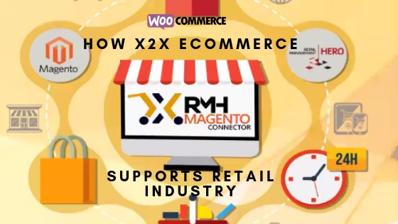 how x2x ecommerce supports retail industry